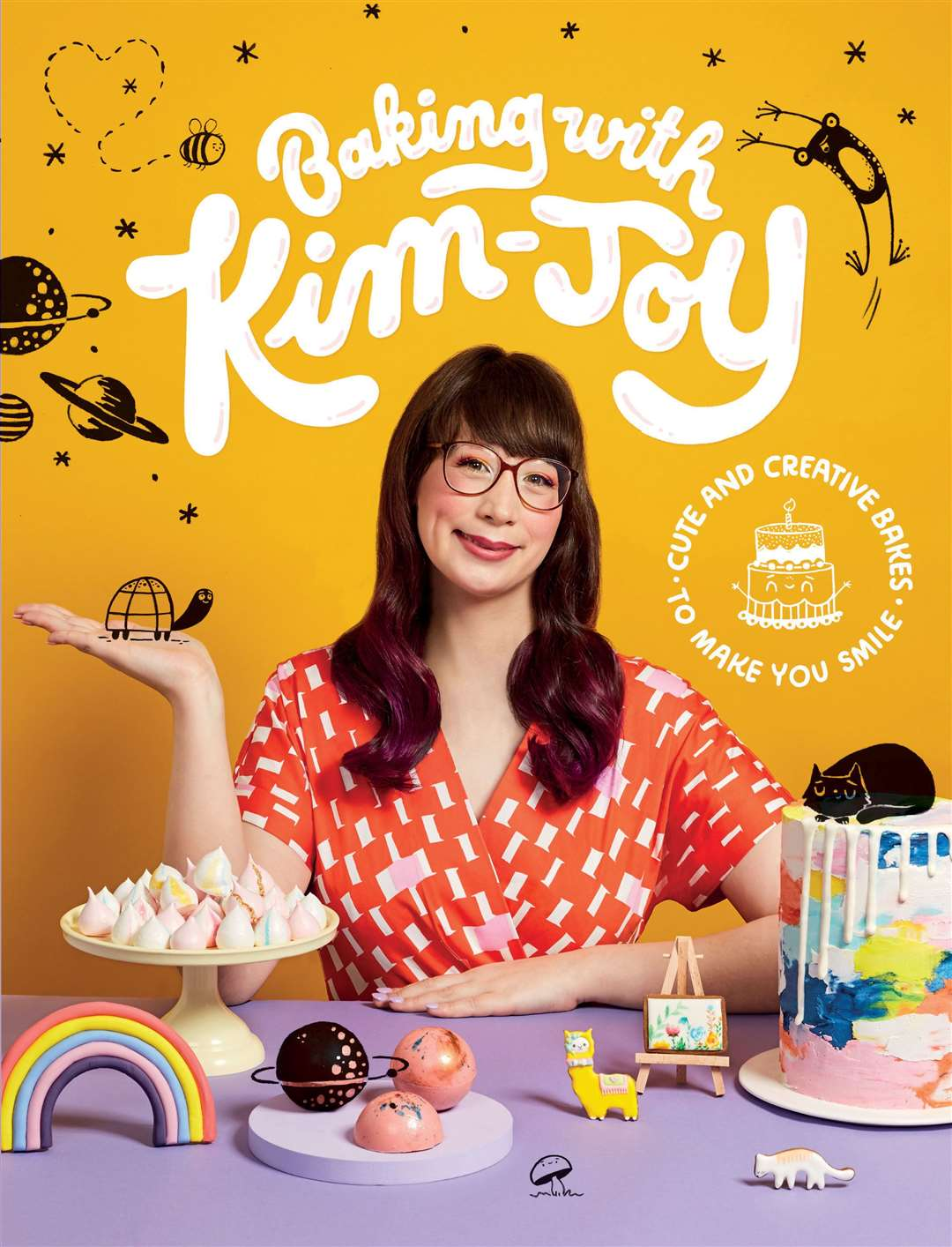 Baking With Kim-Joy: Cute And Creative Bakes To Make You Smile by Kim-Joy, is published by Quadrille, priced £18.99. Available now.