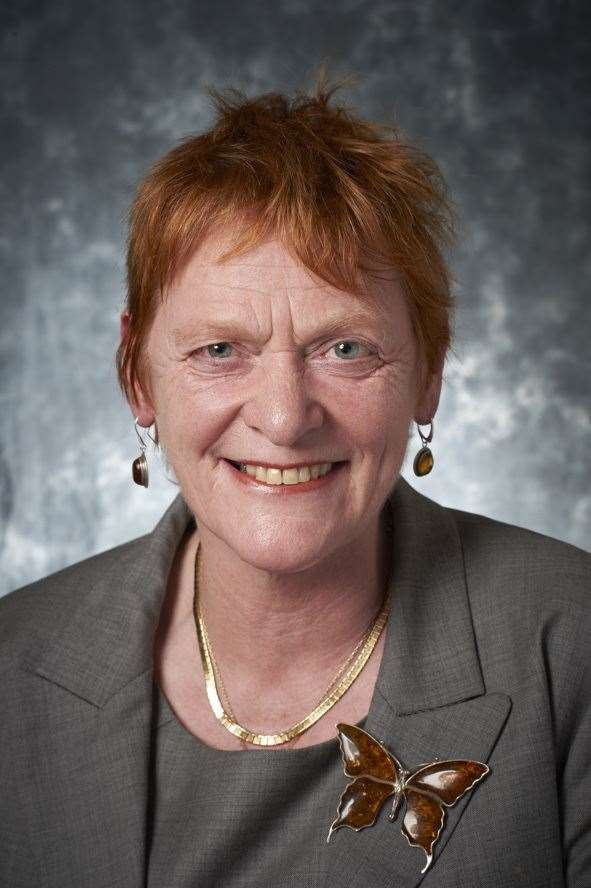 The Leaders of the Highland Council, councillor Margaret Davidson