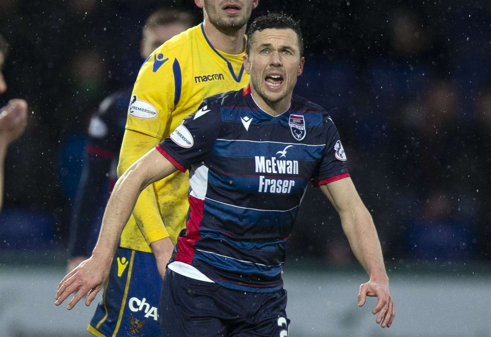 Cowie to donate if Staggies complete challenge