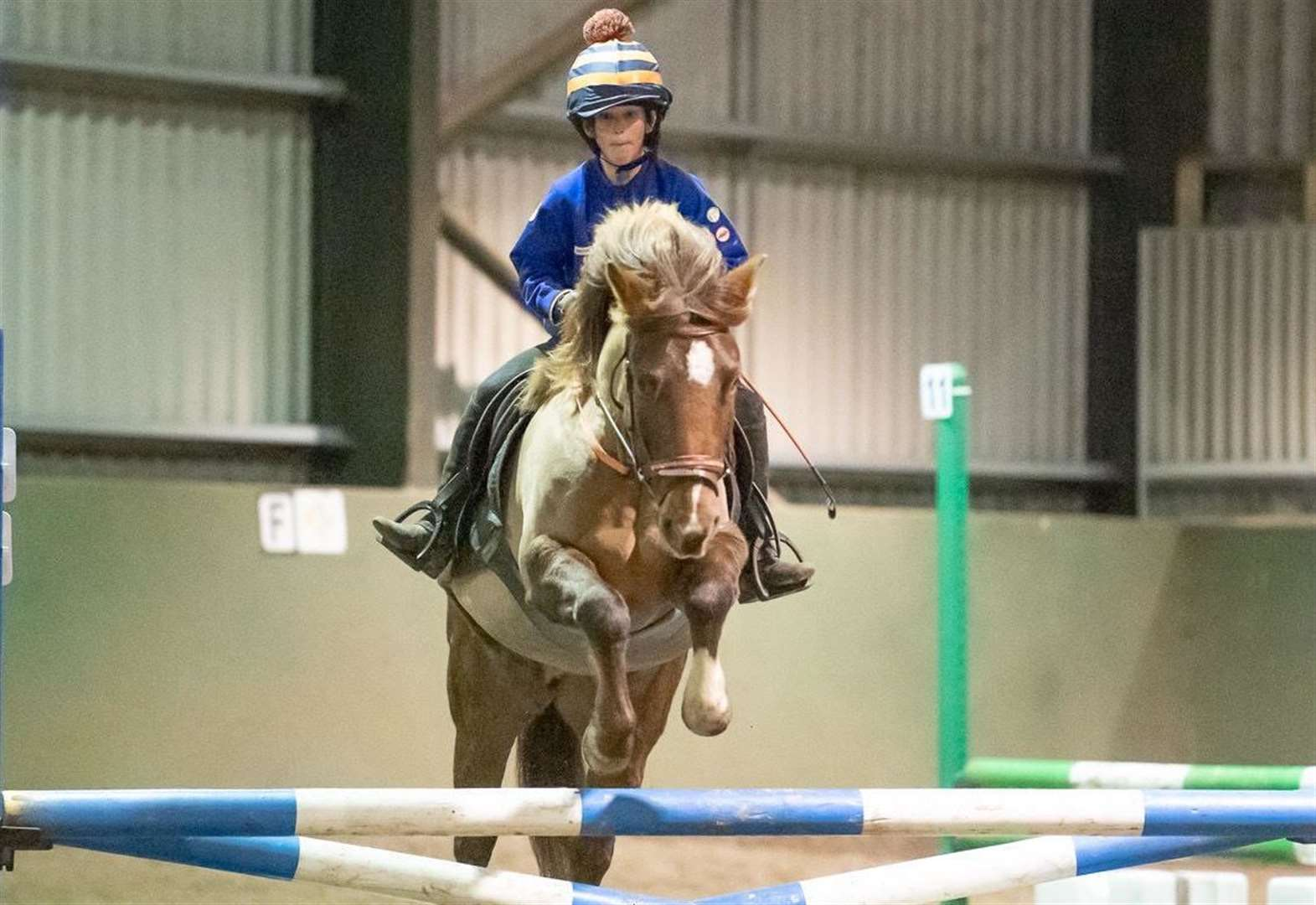 George and Honey achieve clear round at Broomhill