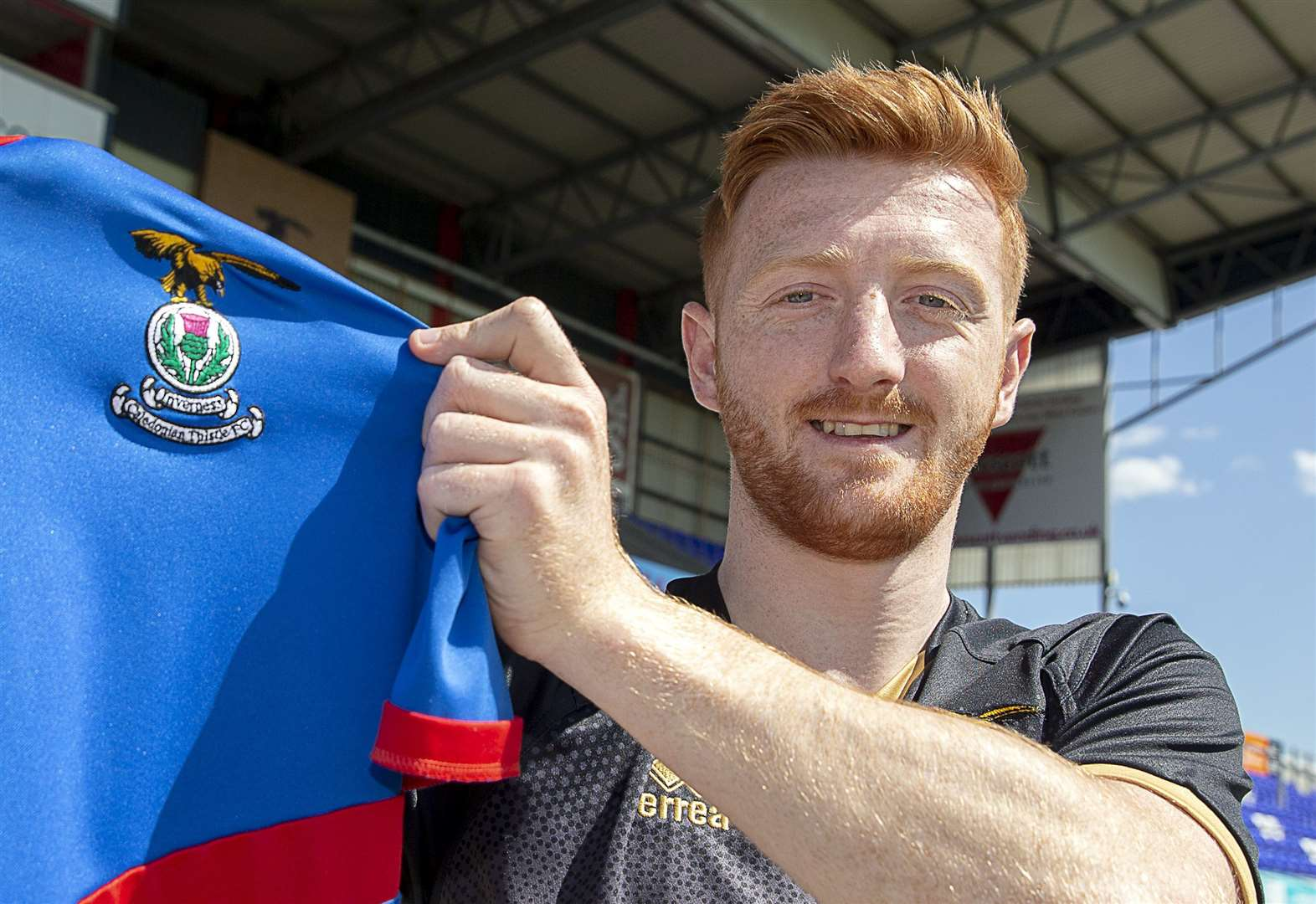 New Inverness signing hopes to follow in Doran's footsteps