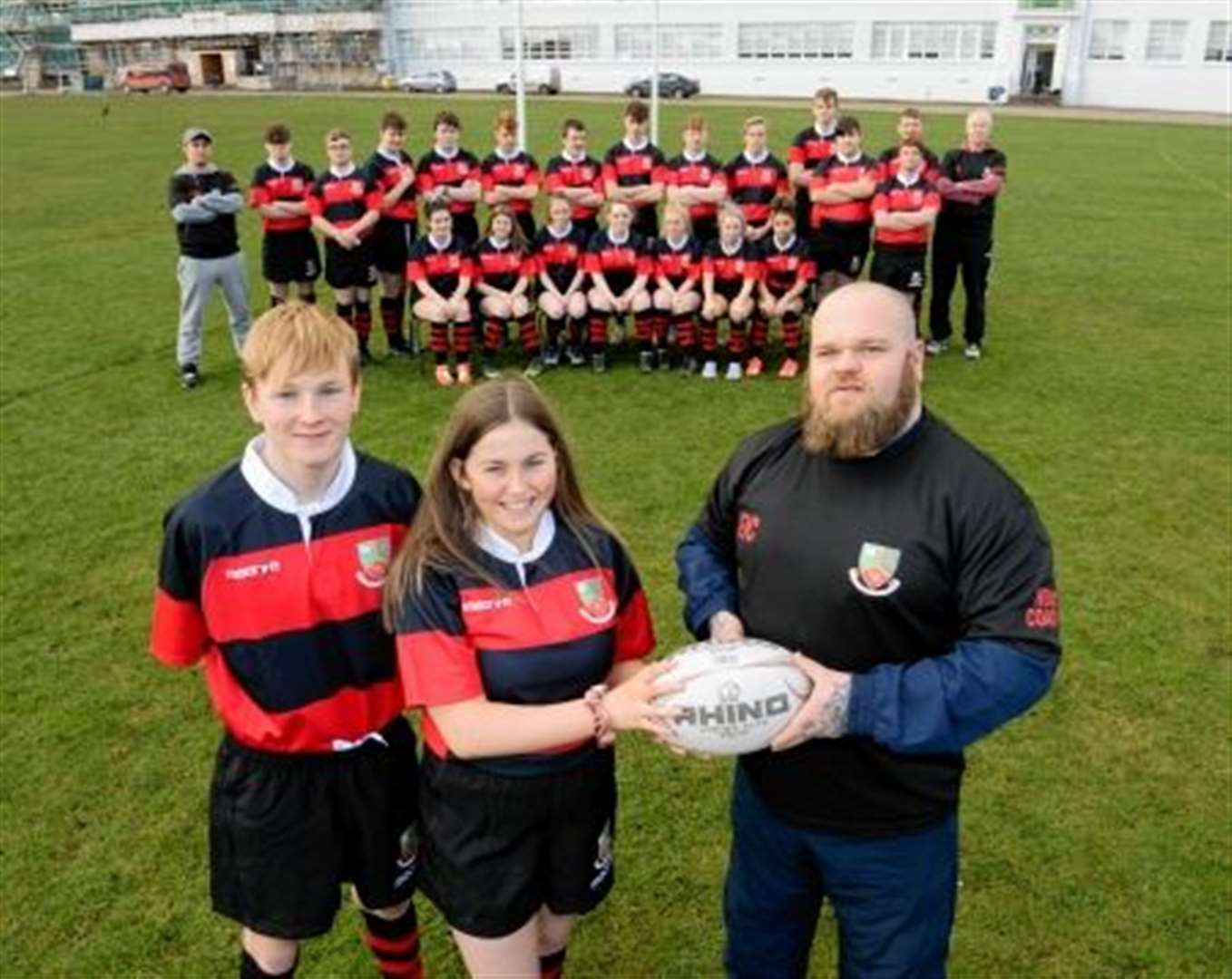 Inverness High School get kitted out