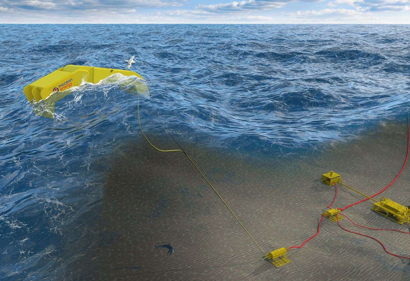 Prototype will put wave power to use under the surface