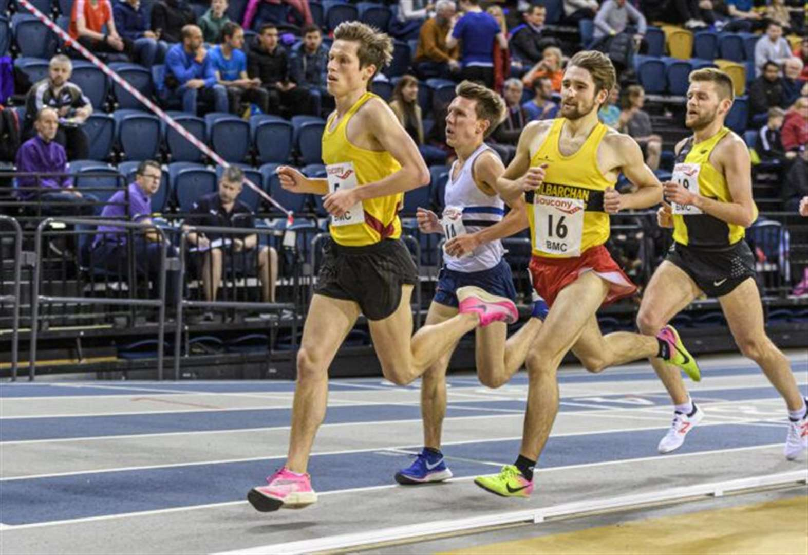 Major breakthrough for Inverness athlete over 3000 metres