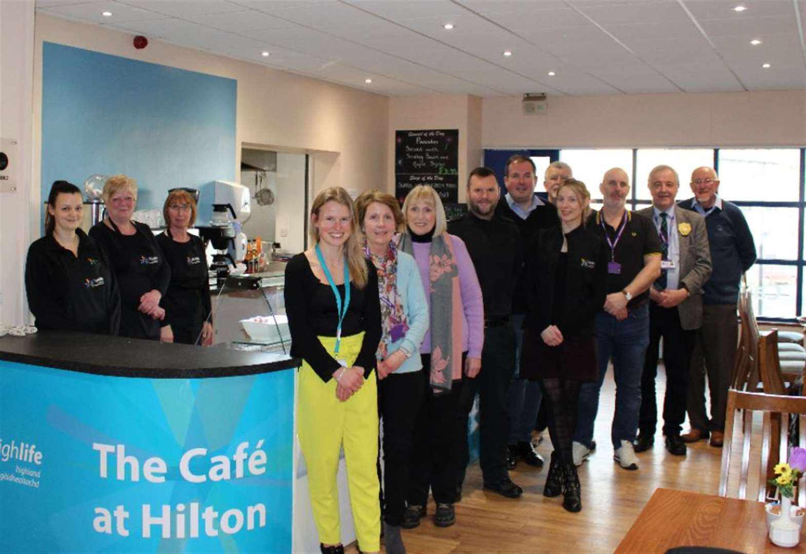 Much-loved community cafe in Inverness re-opens