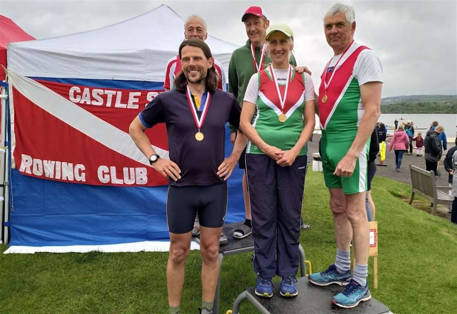 Medal joy for Inverness Rowing Club