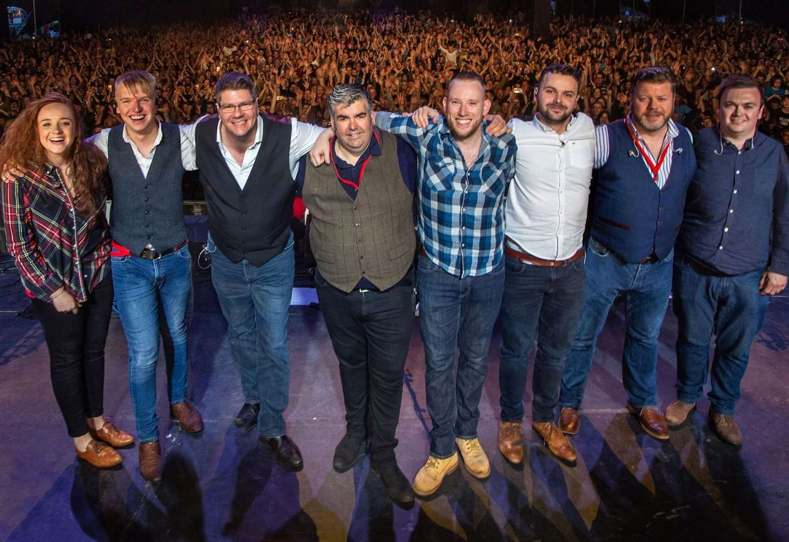 Skipinnish to have fans Walking on the Waves with 2020 big top return