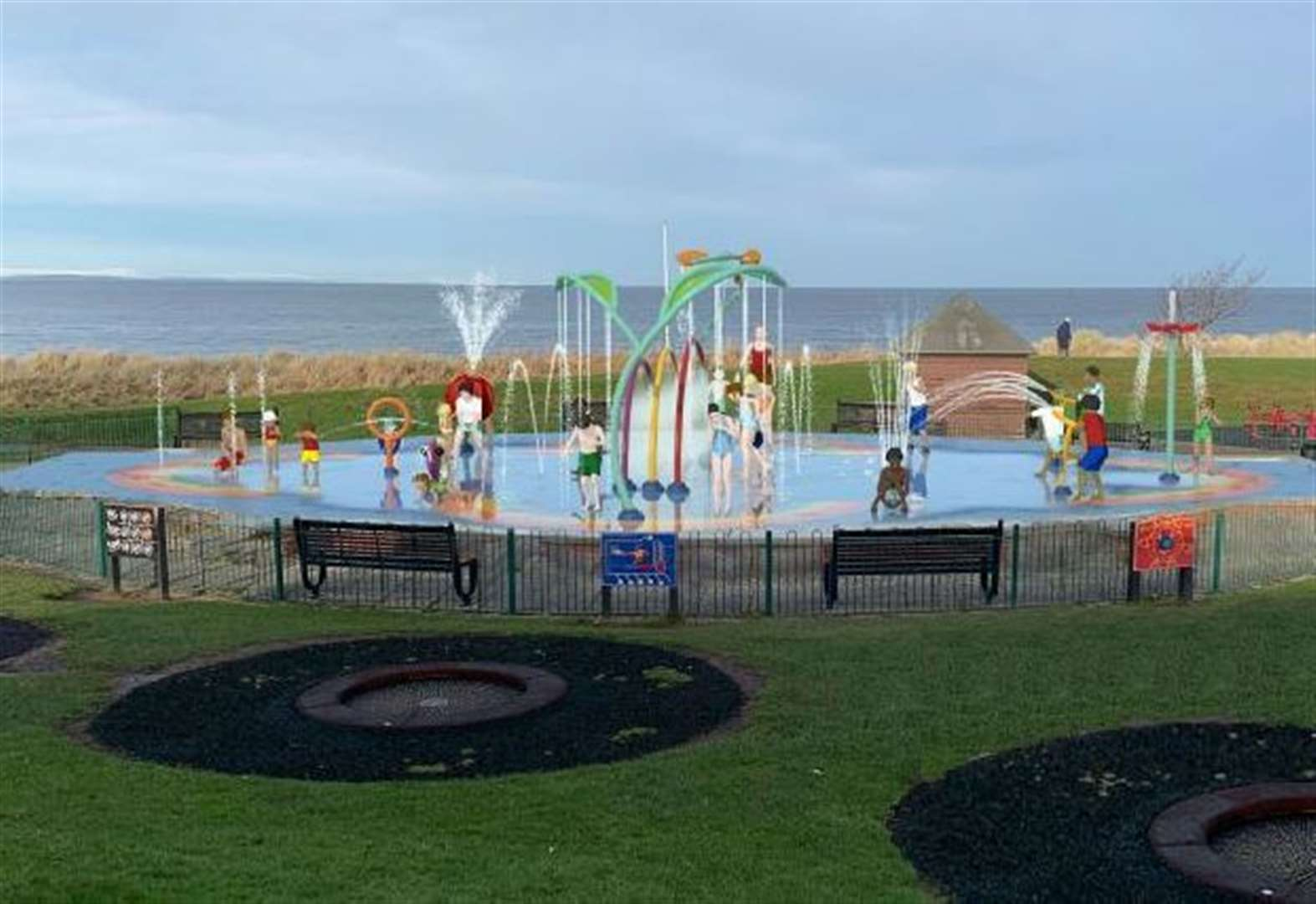 Work to provide a new splash pad for Nairn has been delayed
