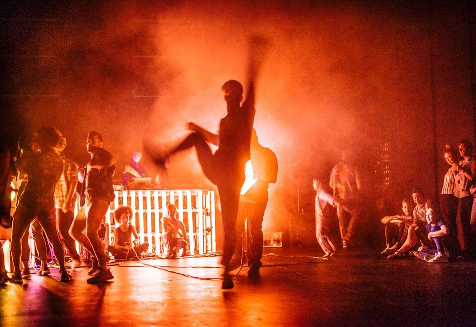 Scottish Dance Theatre gets Findhorn in the Loop