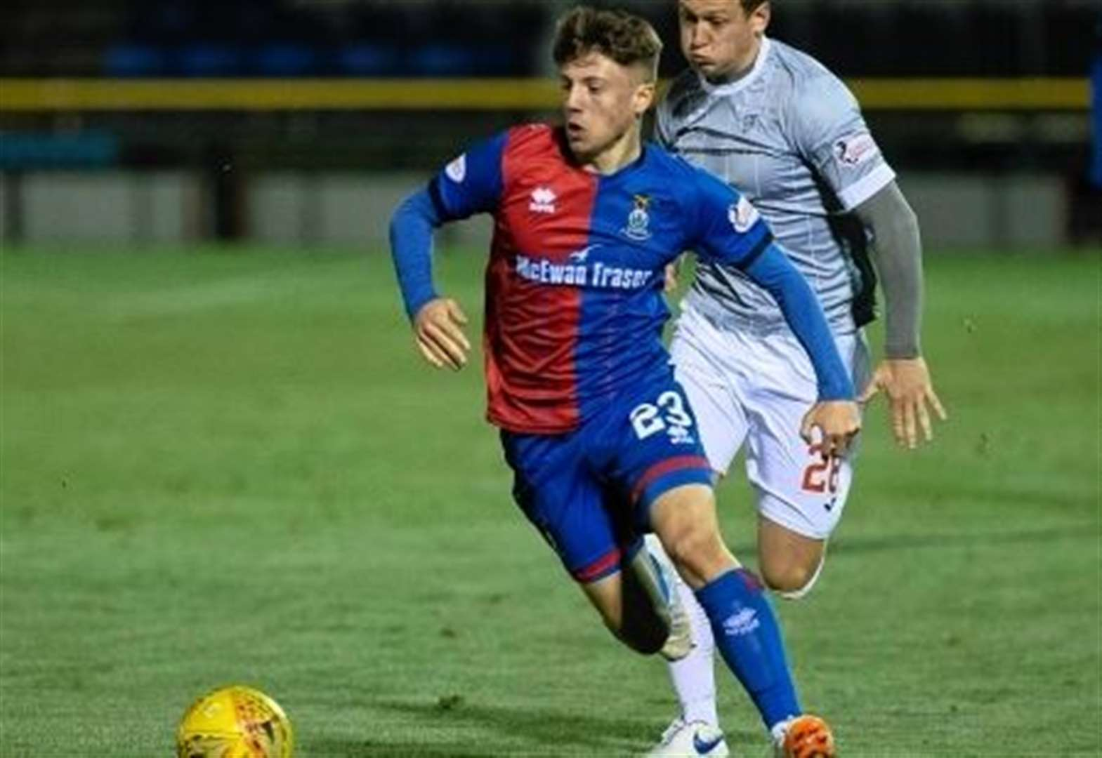 Caley Thistle teenager signs three-year deal