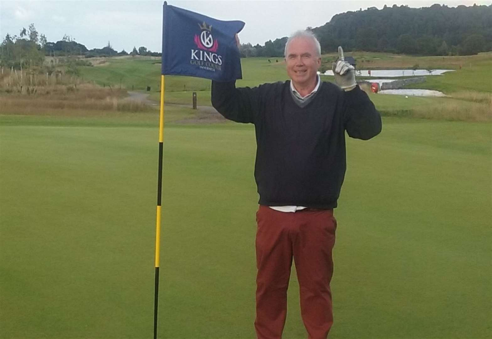 Crowning glory for Inverness golfer at Kings