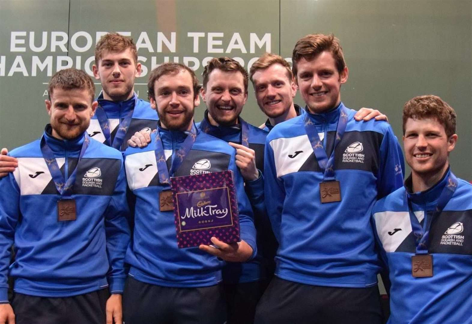 Highland squash pair lead Scotland to bronze