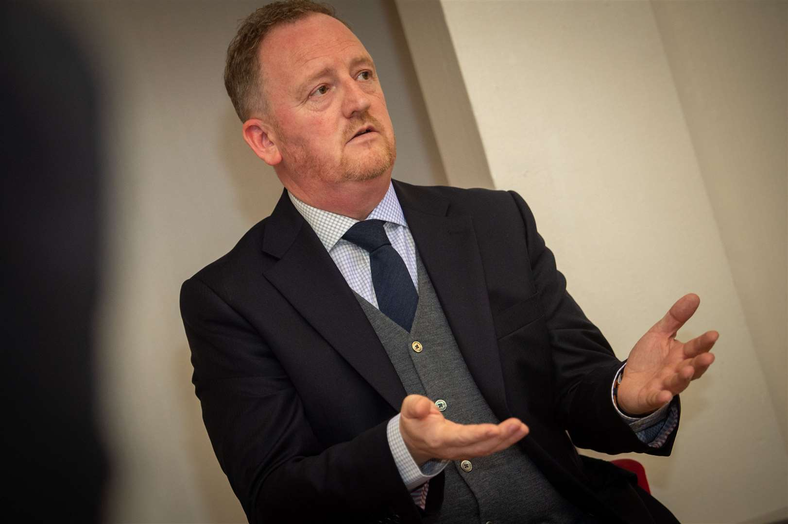 ICT Chief Executive Officer Scot Gardiner. Picture: Callum Mackay.