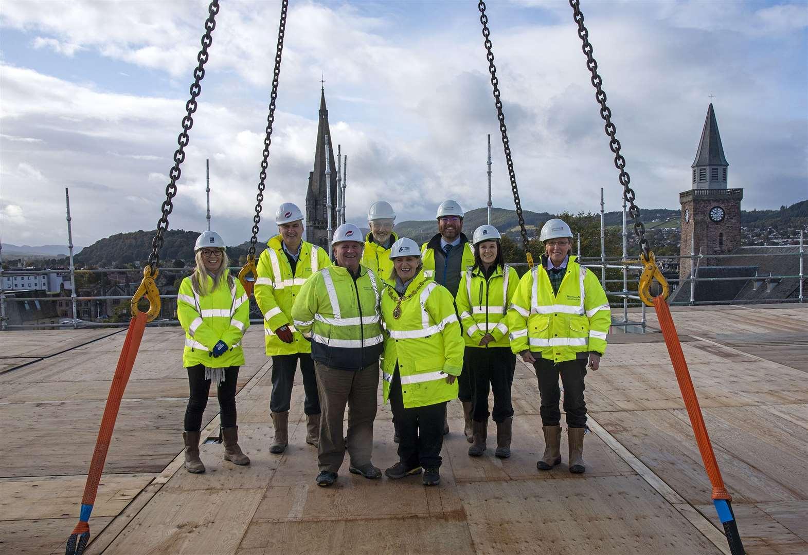 New development in Inverness city centre reaches important milestone