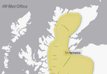 Snow and ice warning issued by the Met Office