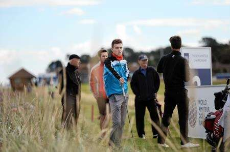 Jamie MacKintosh finished on nine-over par at the Boys Amateur Championship. Picture: John Baikie.