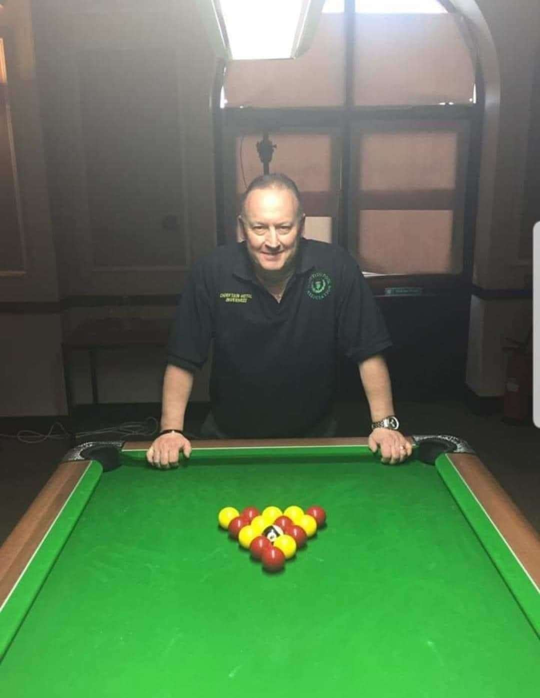 World champion pool player Gavin Phillips.
