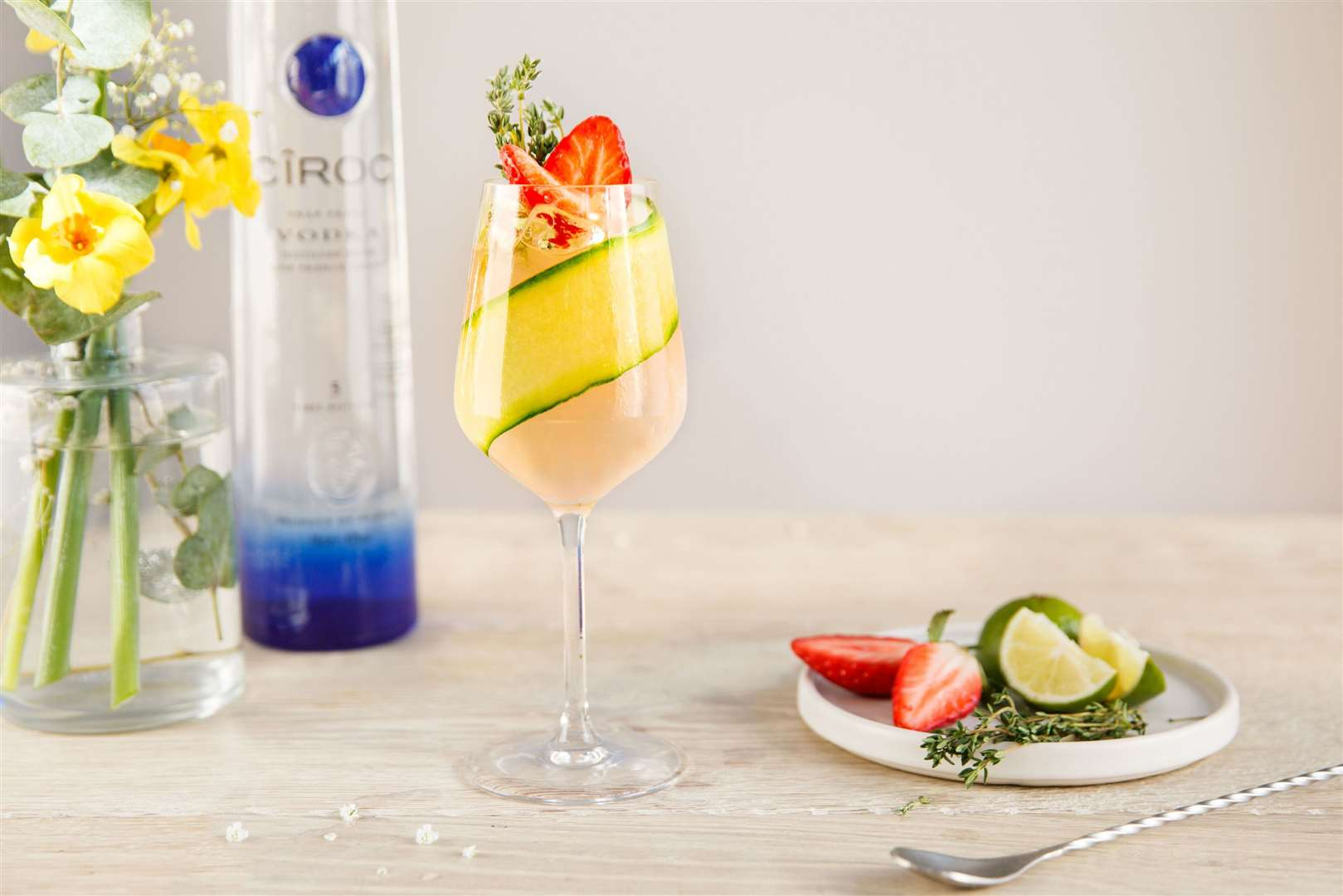 CIROC in Bloom Spritz. Picture: PA Photo/CIROC