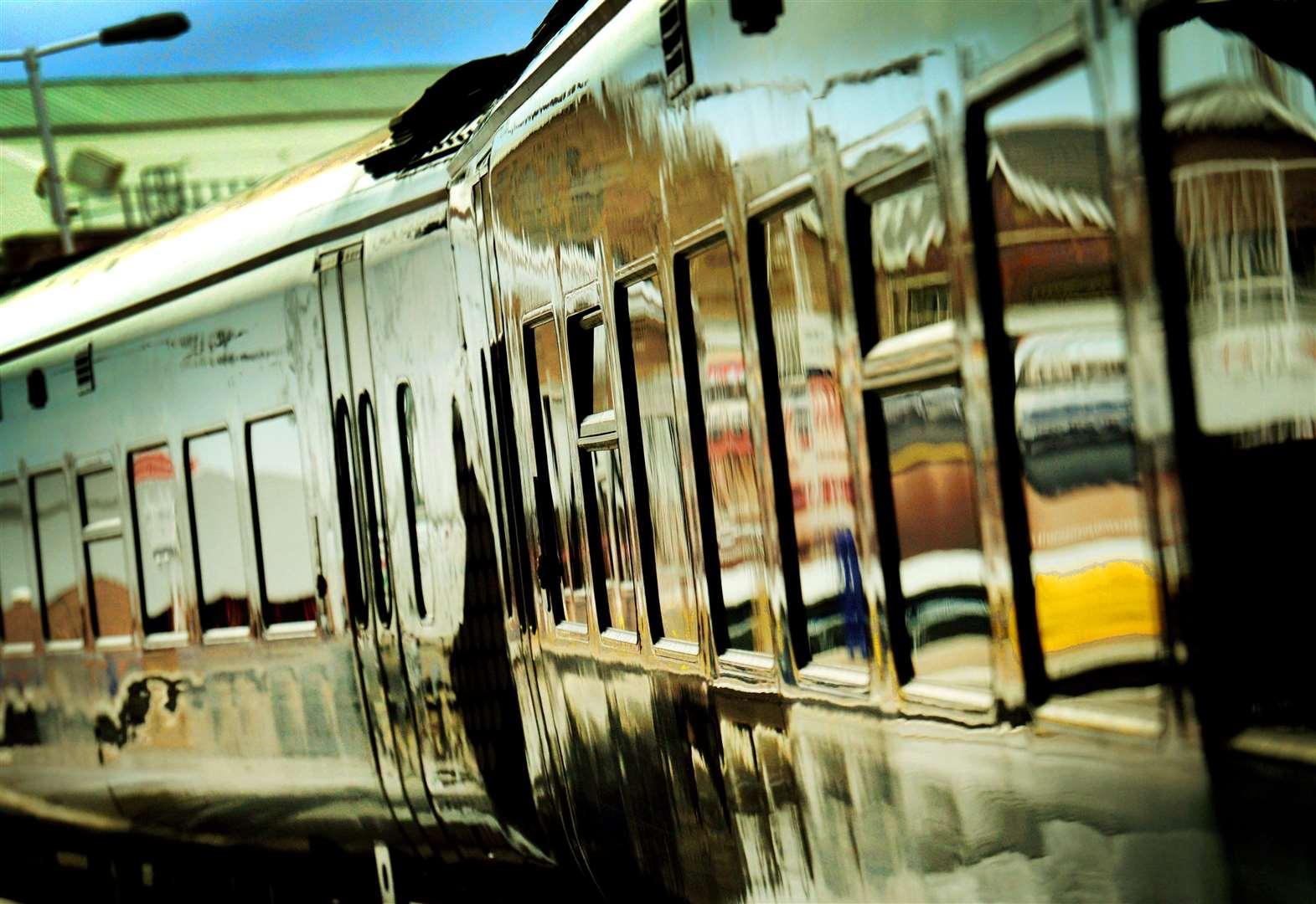 Sheep on line spark train cancellation