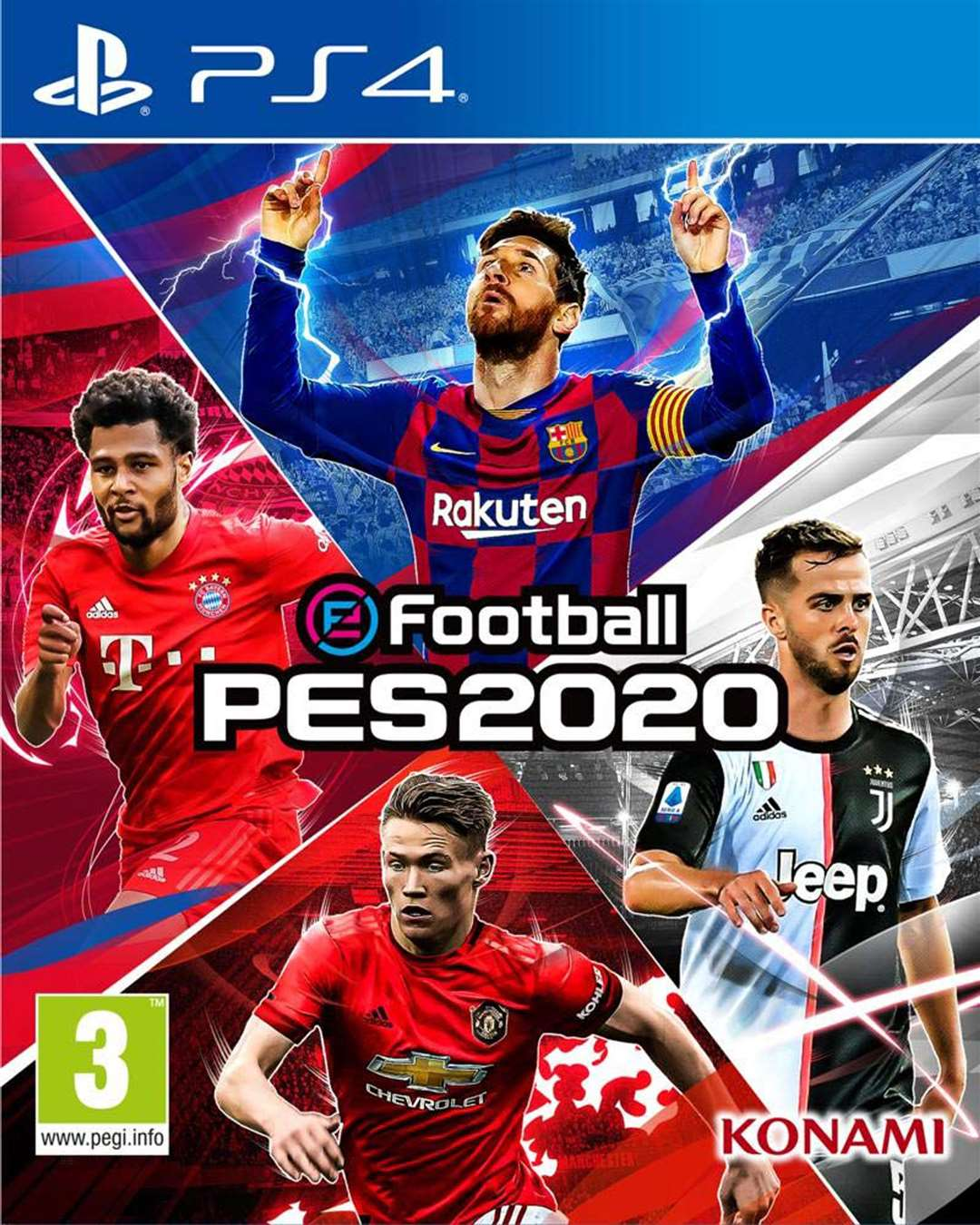 eFootball PES 2020. Picture: PA Photo/Handout