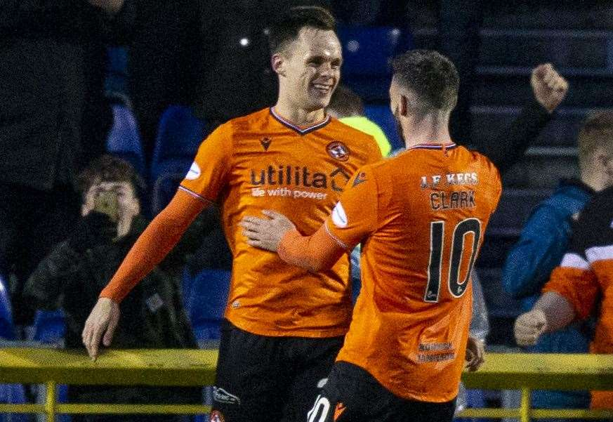 Shankland strikes to kill off Caley Thistle in Dundee United victory