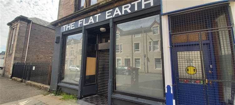 Flat Earth premises in Greig St, Inverness