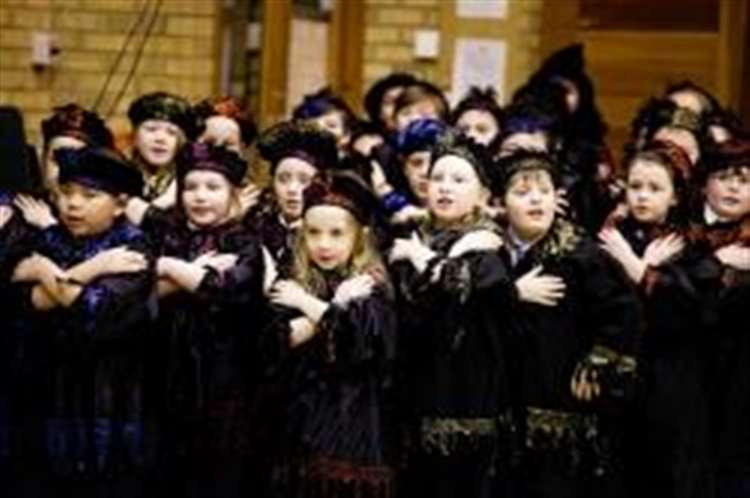 Scares and songs for primary pupils