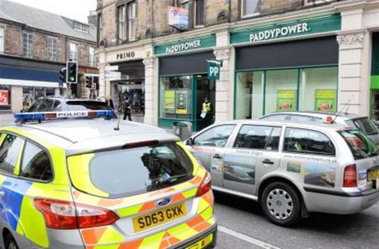 Inverness betting shop robbery lazio vs fiorentina betting expert free