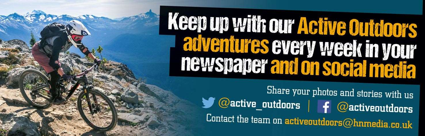 Active Outdoors is available in your weekly newspaper, online and via social media.