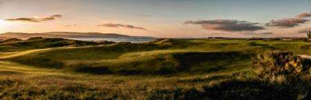 The fourth hole at Fortrose and Rosemarkie Golf Course.
