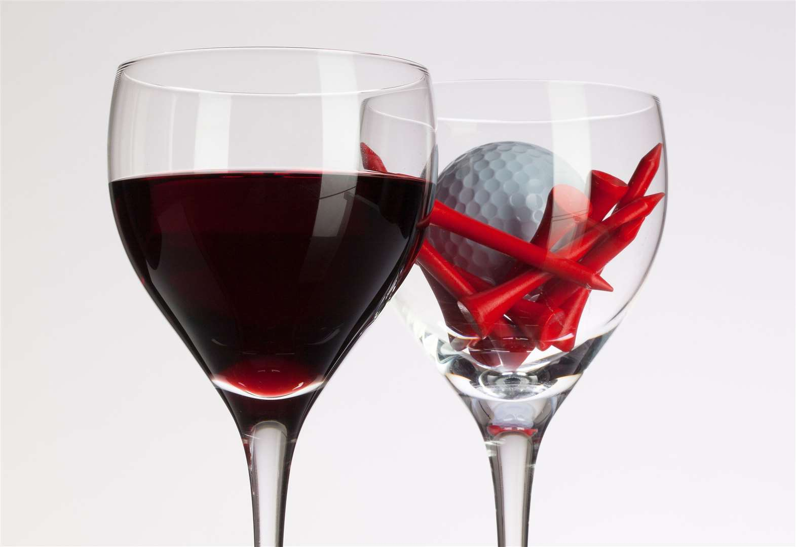 Fall in a tee-time glass of wine