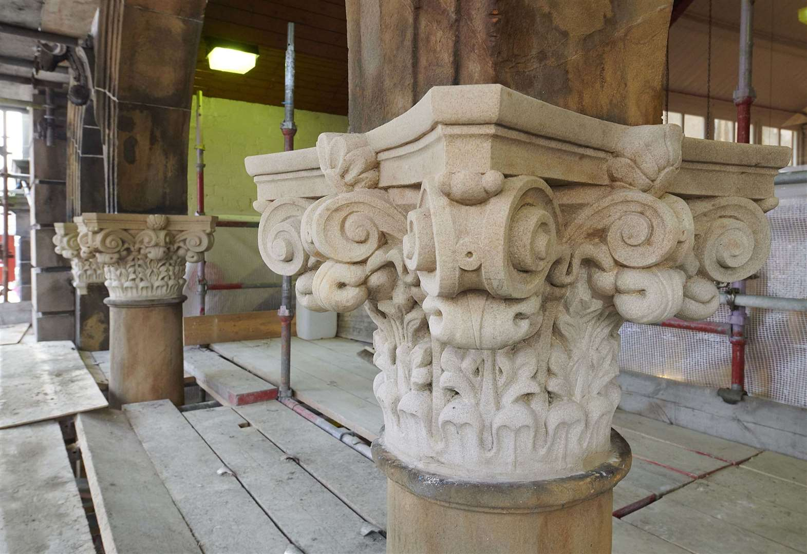 Repairs to entrance of Inverness Victorian Market completed
