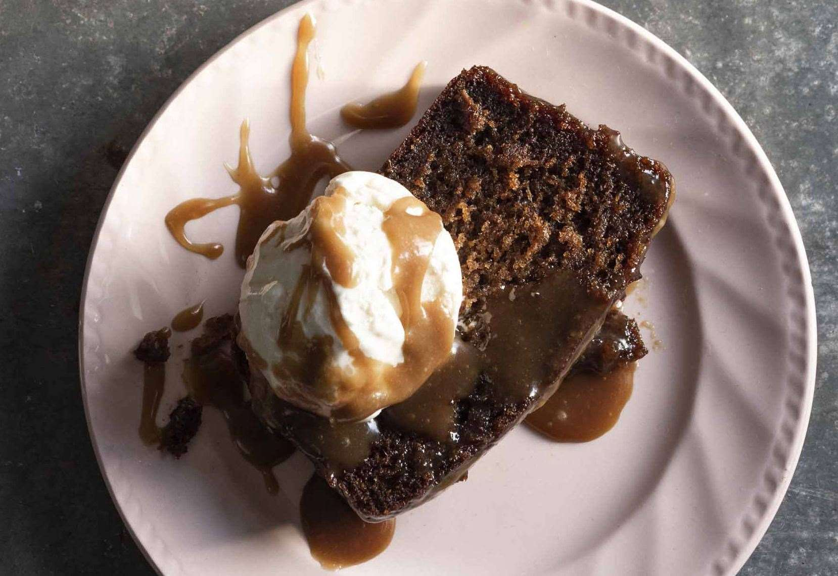 This sticky toffee recipe from 100 Dirty Dishes is the perfect end to any meal