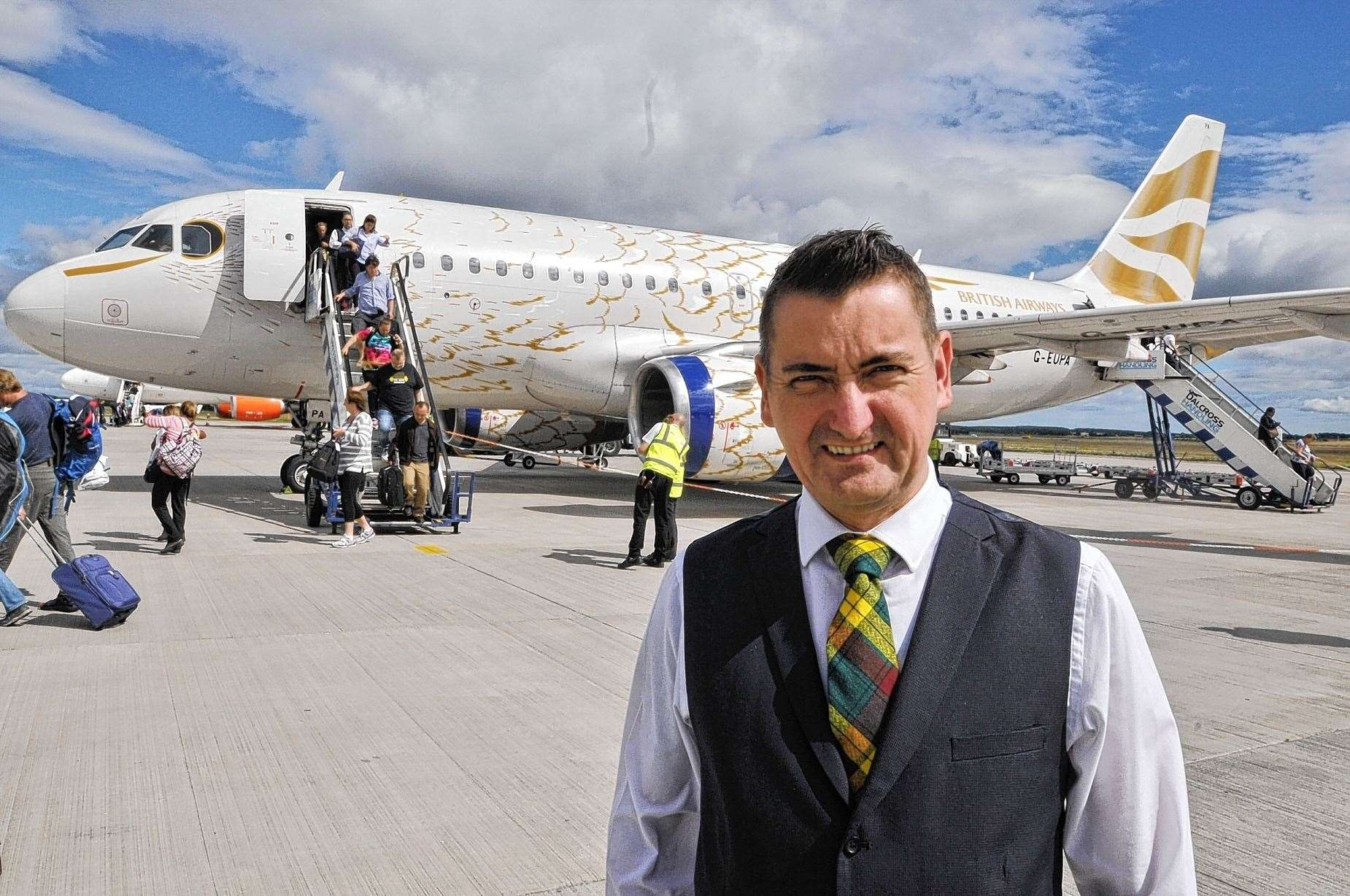 Graeme Bell of Inverness Airport.