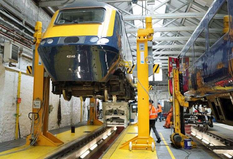 New £1.6m train maintenance equipment in Inverness to 'boost performance on Highland lines'