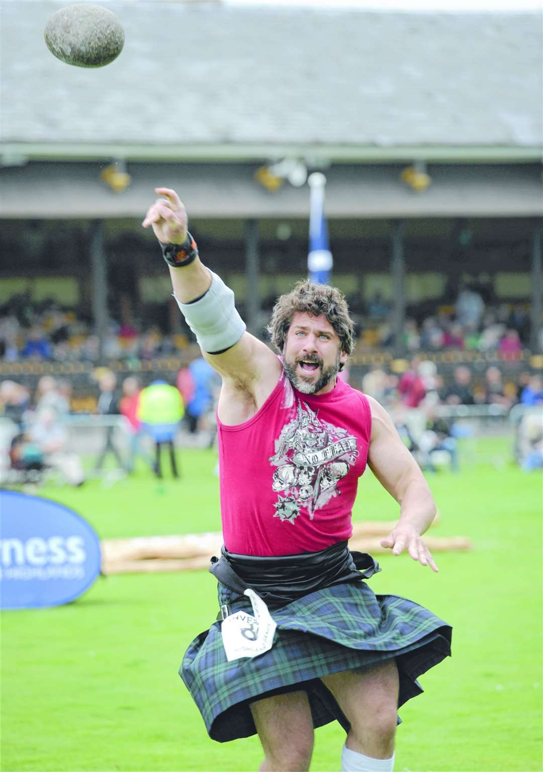 Inverness Highland Games. Picture: Gary Anthony / SPP