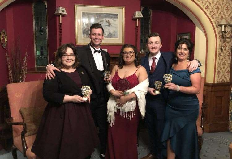 Awards for theatre group stalwarts