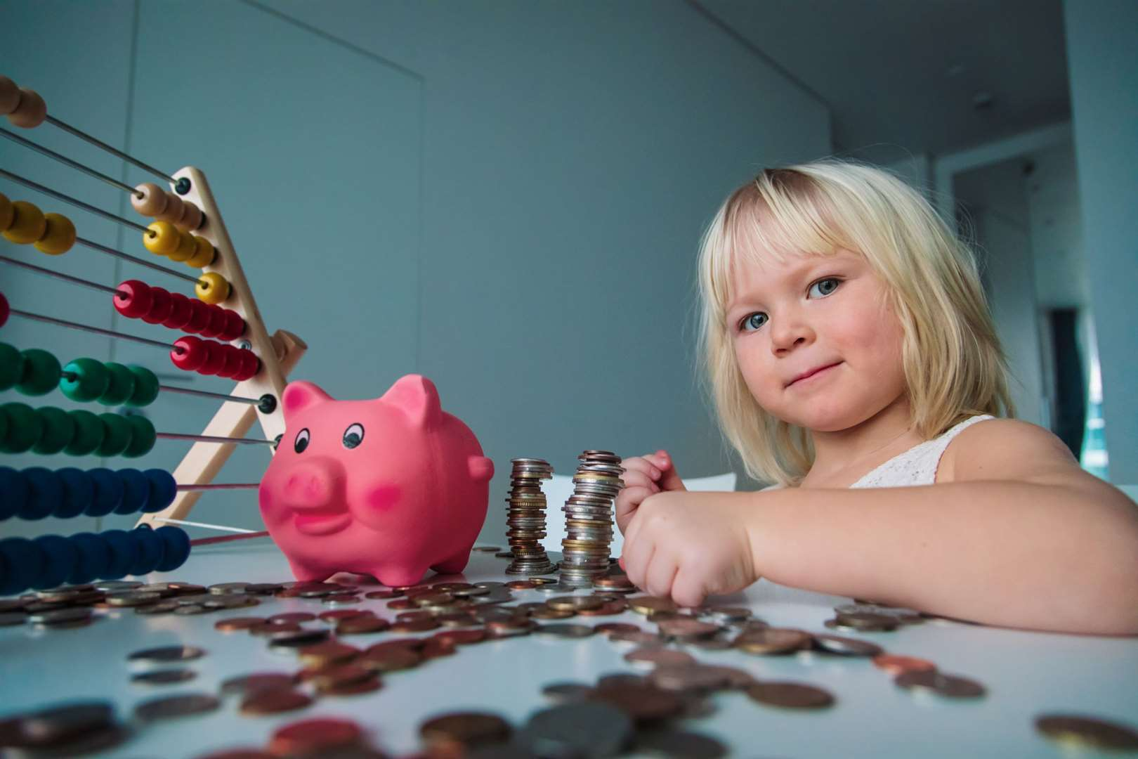 Teaching your children about money can set them in good stead for the future.