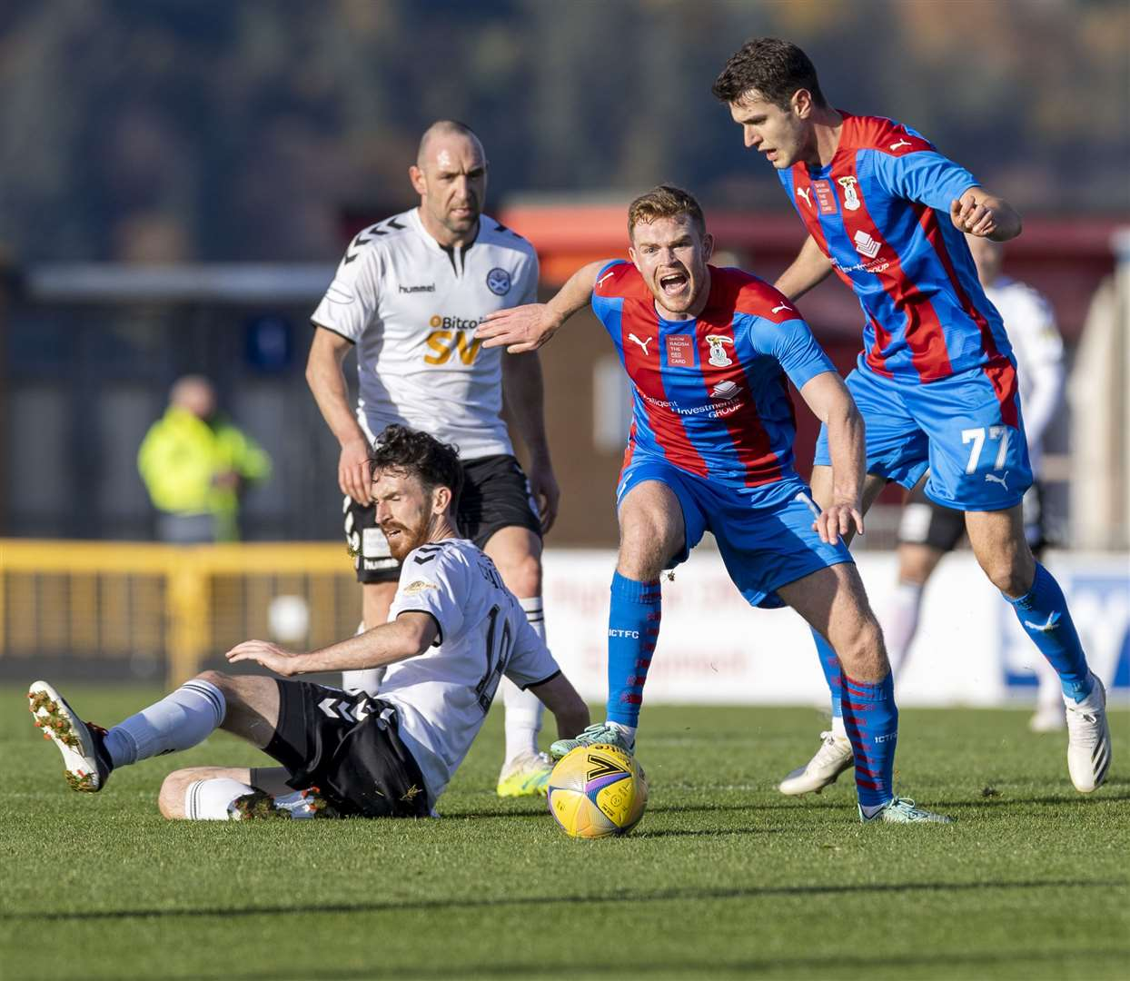 Caley Thistle finish the season in fifth place. Picture: Ken Macpherson