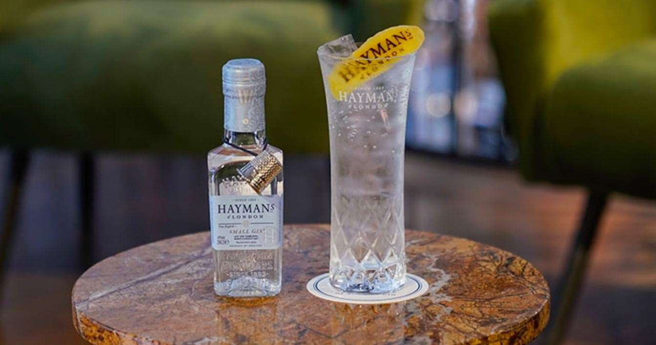 Small Gin by Hayman's.