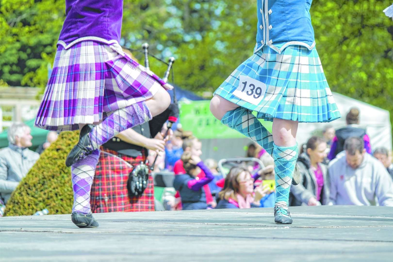 Don't miss your local Highland Games. Picture: Adobe Stock