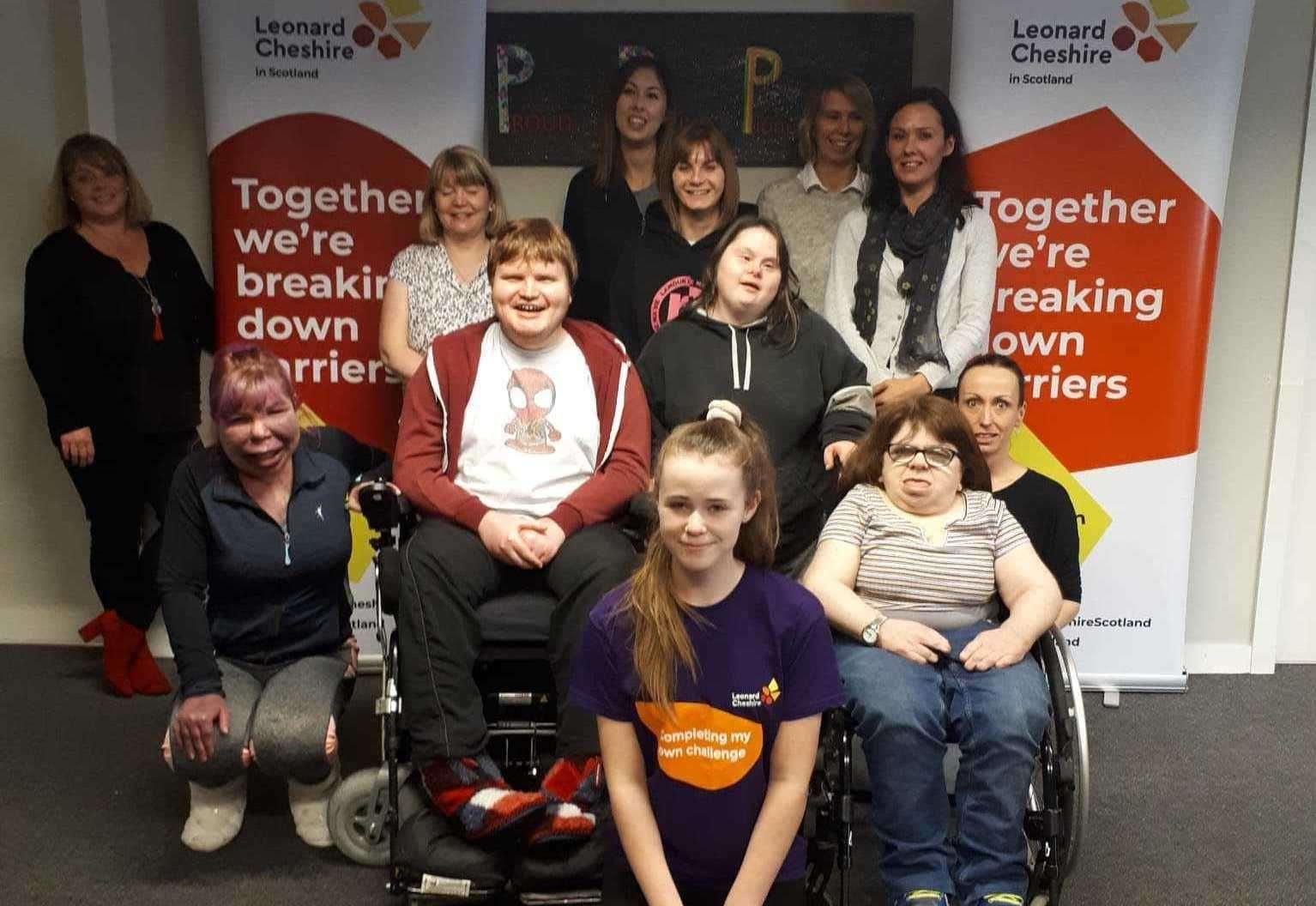 Teenage volunteer recognised for her groundbreaking work with disabled people