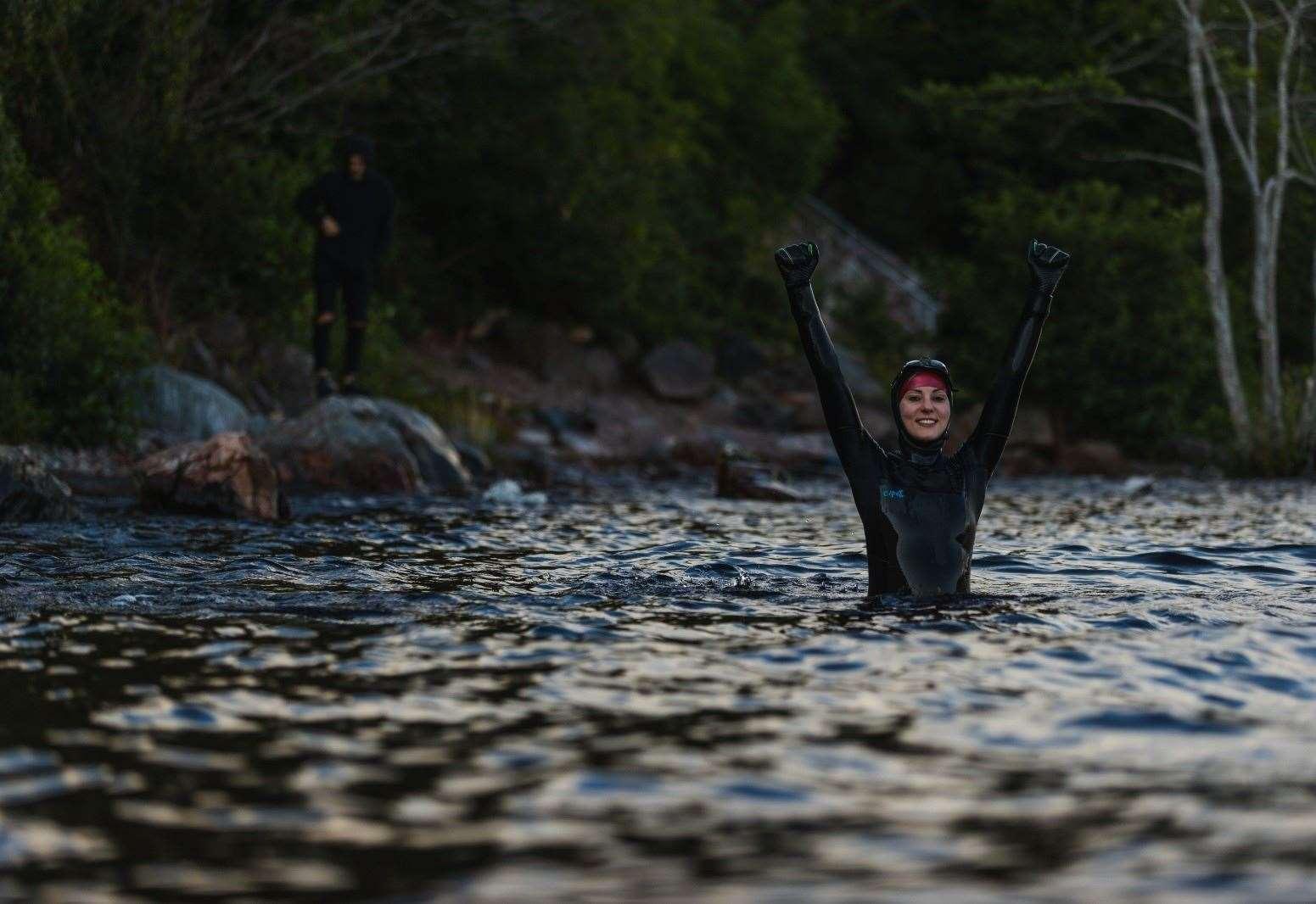Monster swim raises £3k for suicide charity