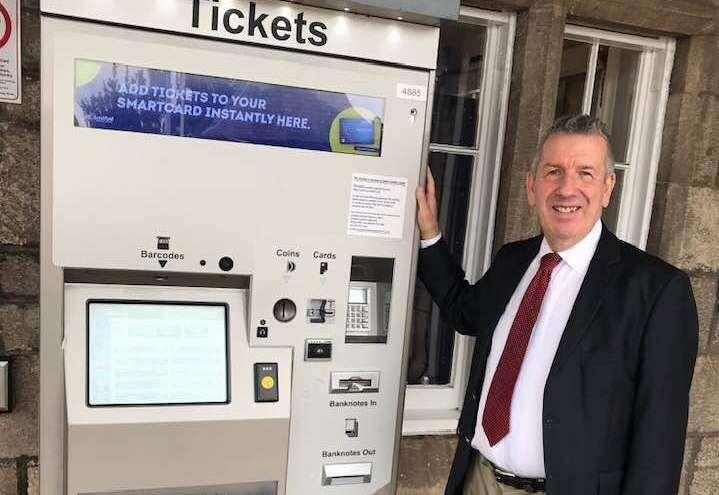 Complaint over Nairn railway ticket machine passed to Transport Secretary