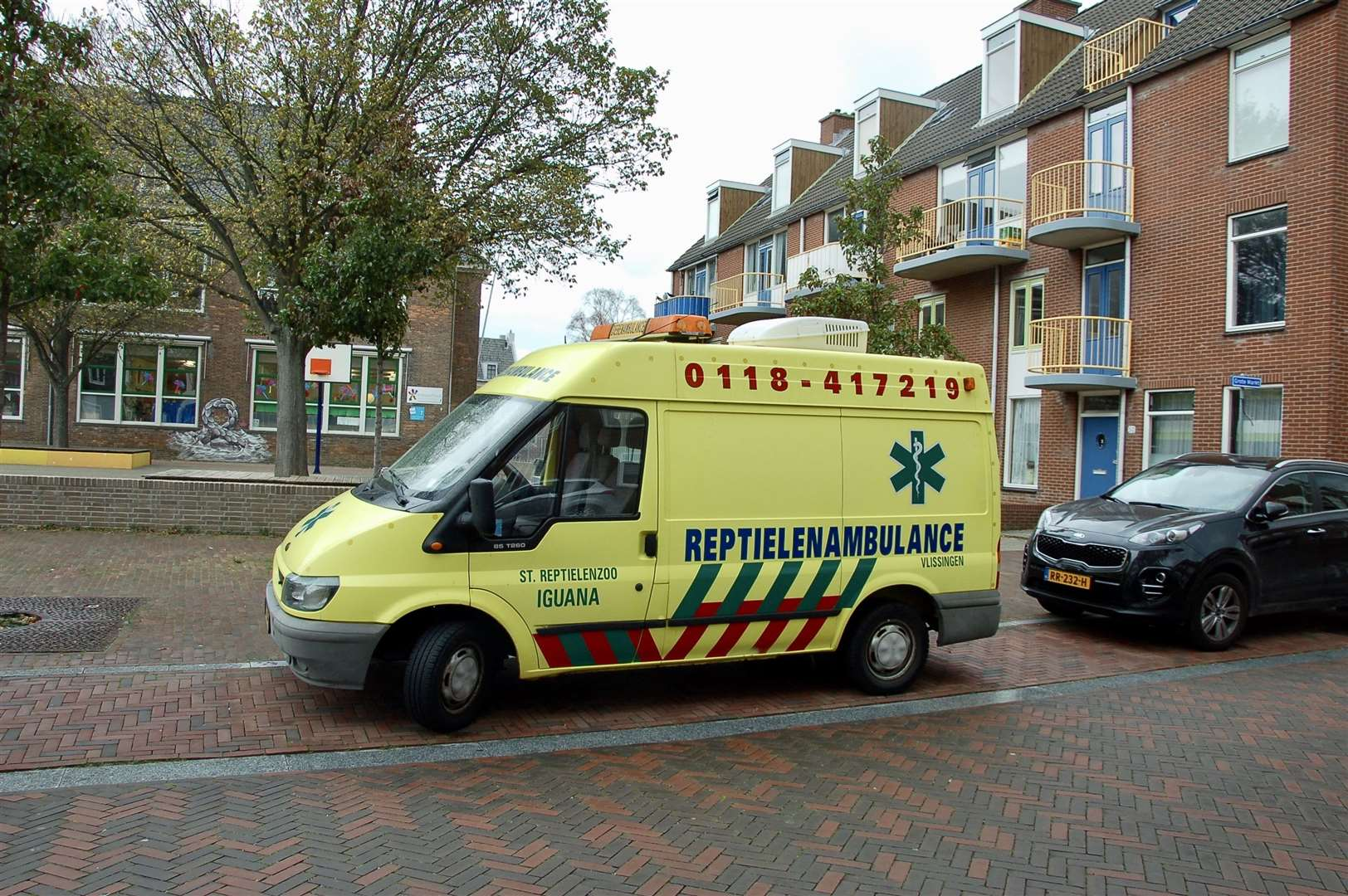 The reptile ambulance at Vlissingen