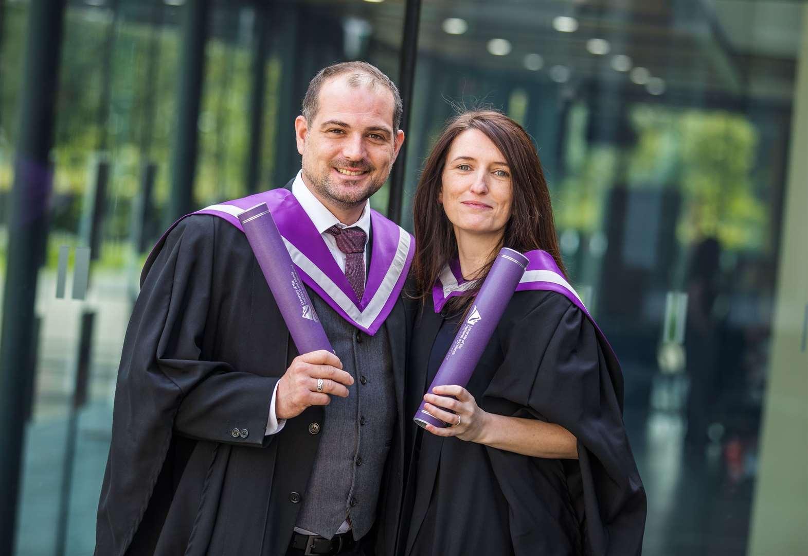 Inverness College UHI graduates reap rewards