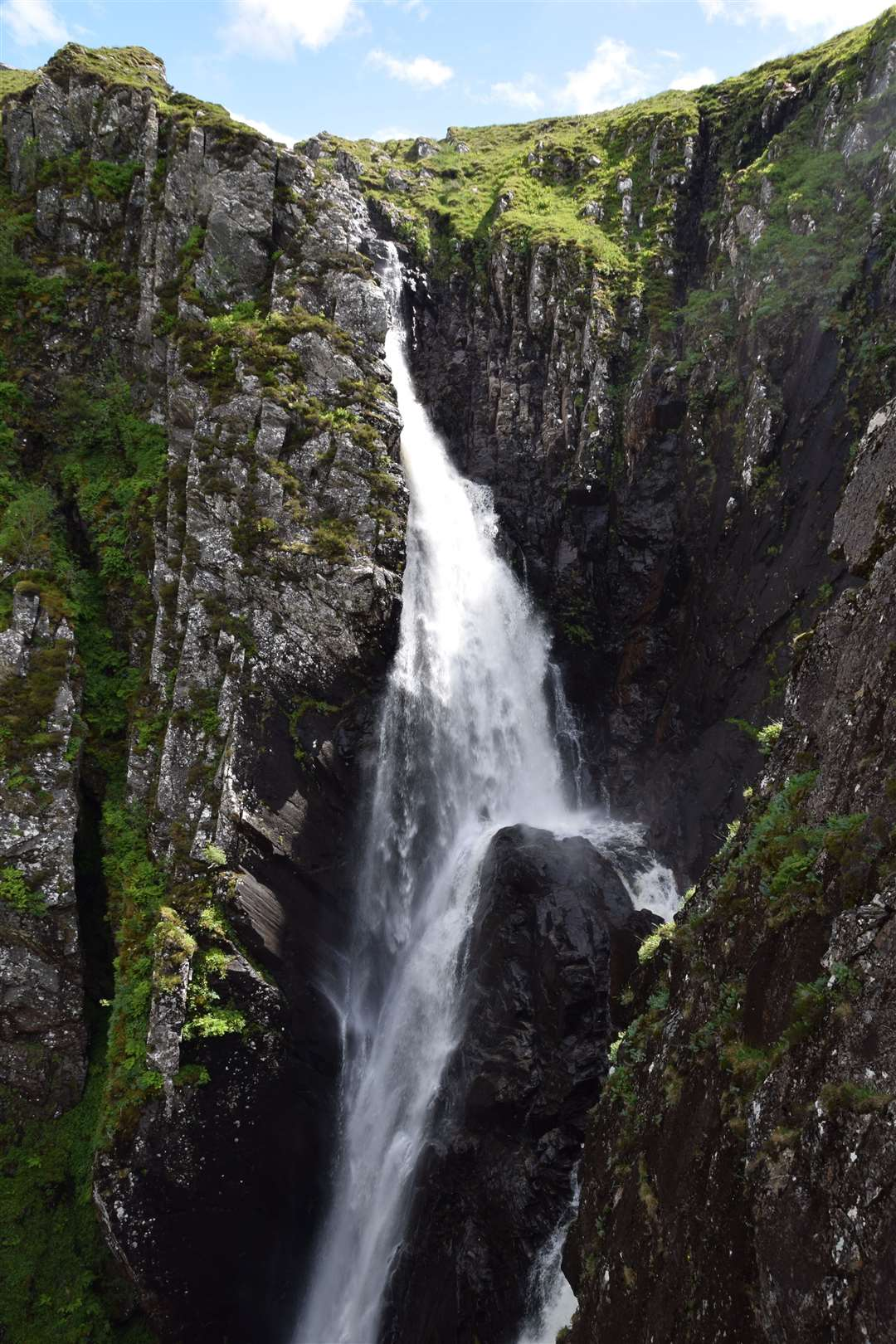 Falls of Glomach, near Kyle of Lochalsh.