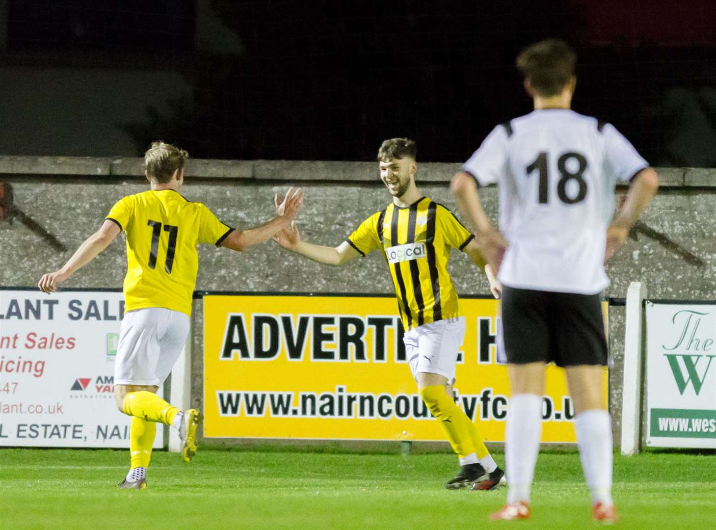 Liam Shewan scored in Nairn's 2-1 win over Clachnacuddin. Picture: Donald Cameron