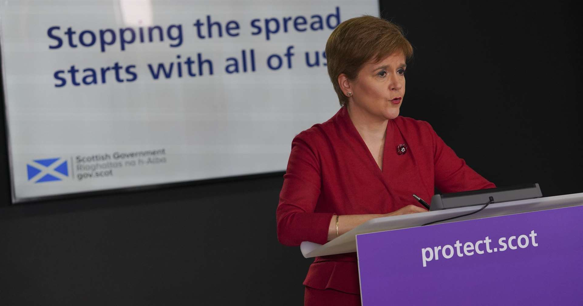 Covid: Action may be needed to halt new strain, Nicola Sturgeon warns