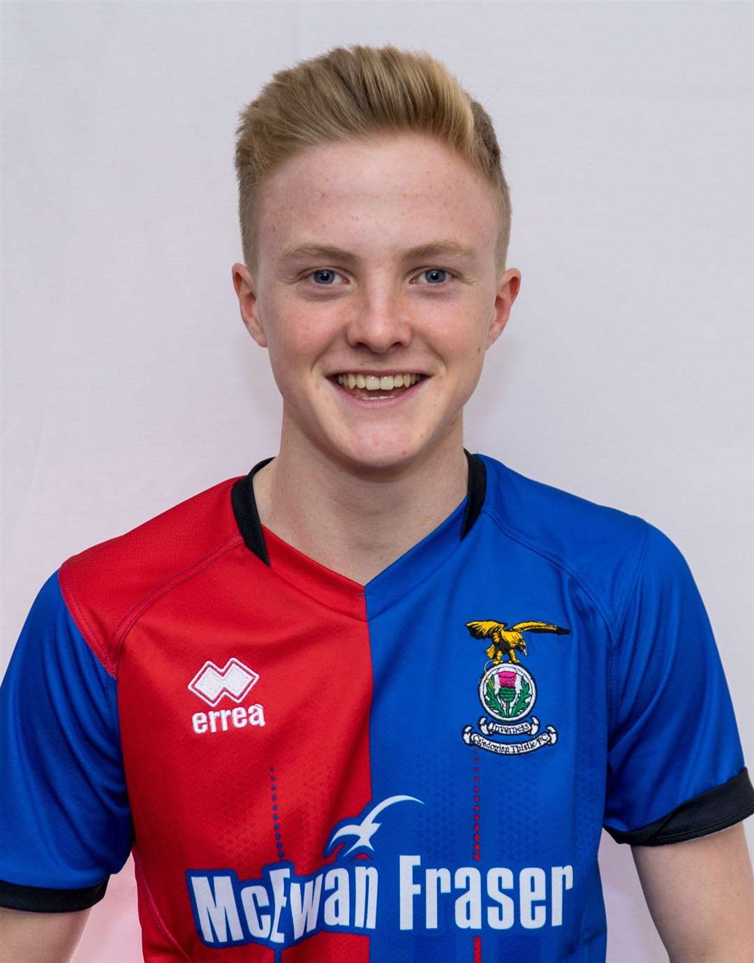 Culloden Academy pupil Lewis Nicolson has been selected for a Scotland under-15s training camp.
